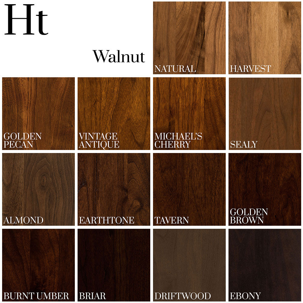 Color Palette on Walnut - Home and Timber