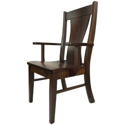 Westin Arm Chair in Walnut with a Tavern Stain