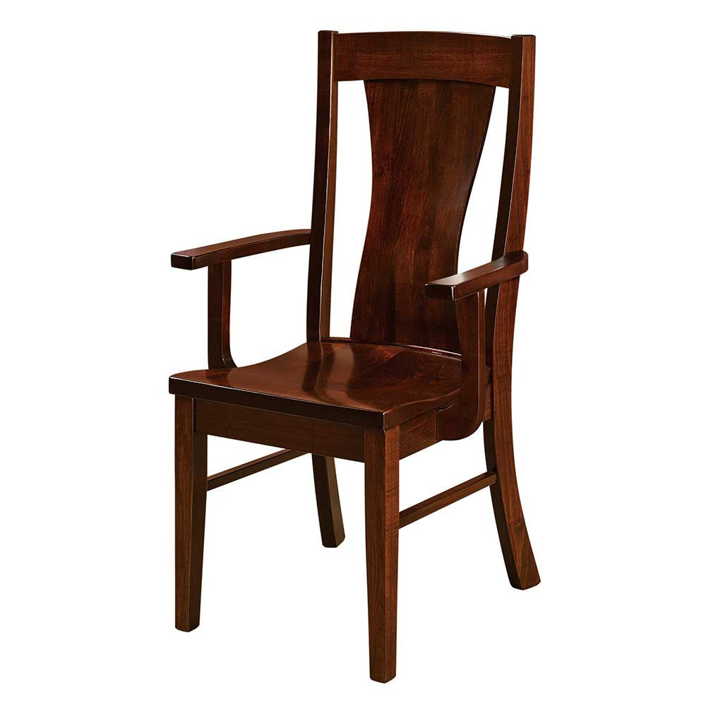 Westin Arm Dining Chair by Home and Timber