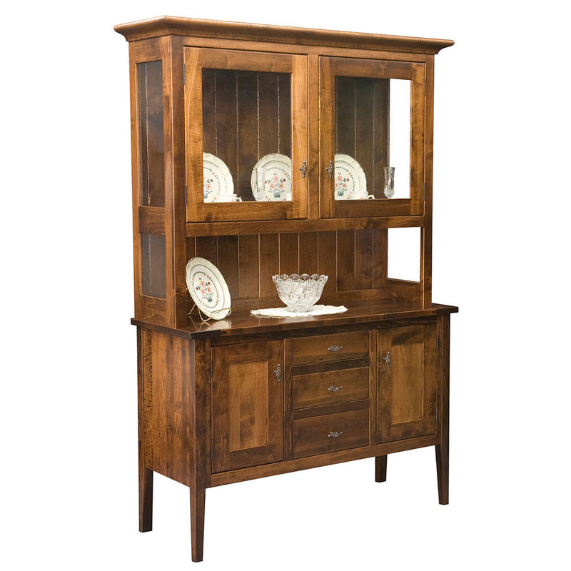Williamsburg Solid Wood Buffet or Hutch by Home and Timber