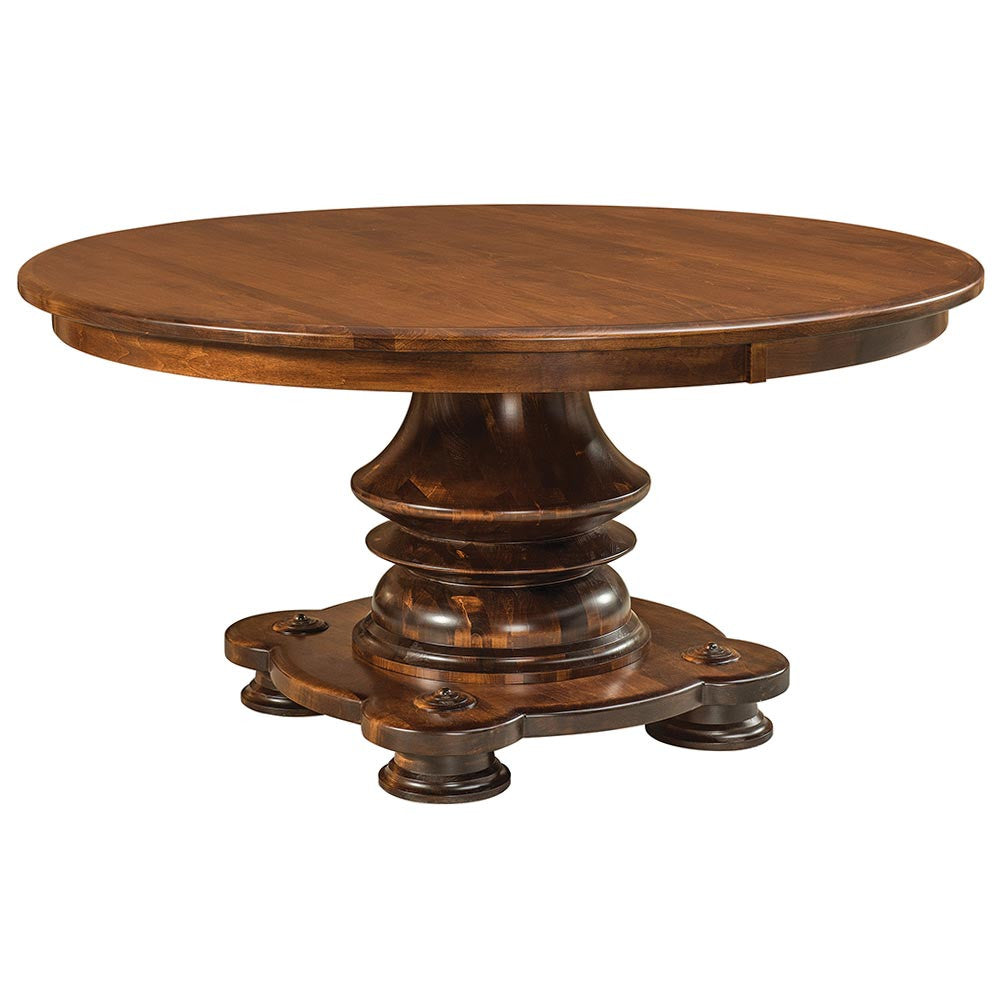 Woodmont Expandable Pedestal Table by Home and Timber