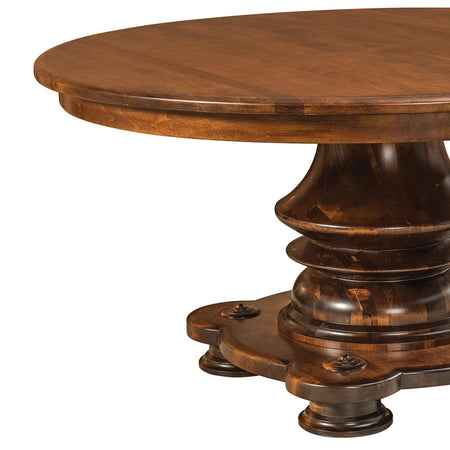 Woodmont Single Pedestal Table by Home and Timber