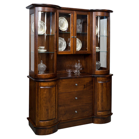 Wyatt Solid Wood Buffet or Hutch by Home and Timber