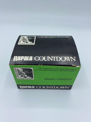 Rapala Countdown Vintage Dealer Carton CD09 P (empty)