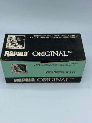 Rapala Original Vintage Dealer Carton F-13 P (empty)