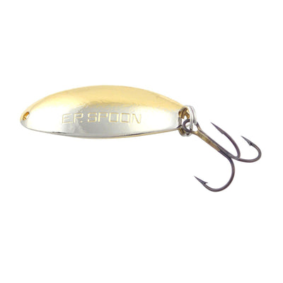 (12) Thomas Lures E.P. Spoons Nickel Gold 1/4 oz