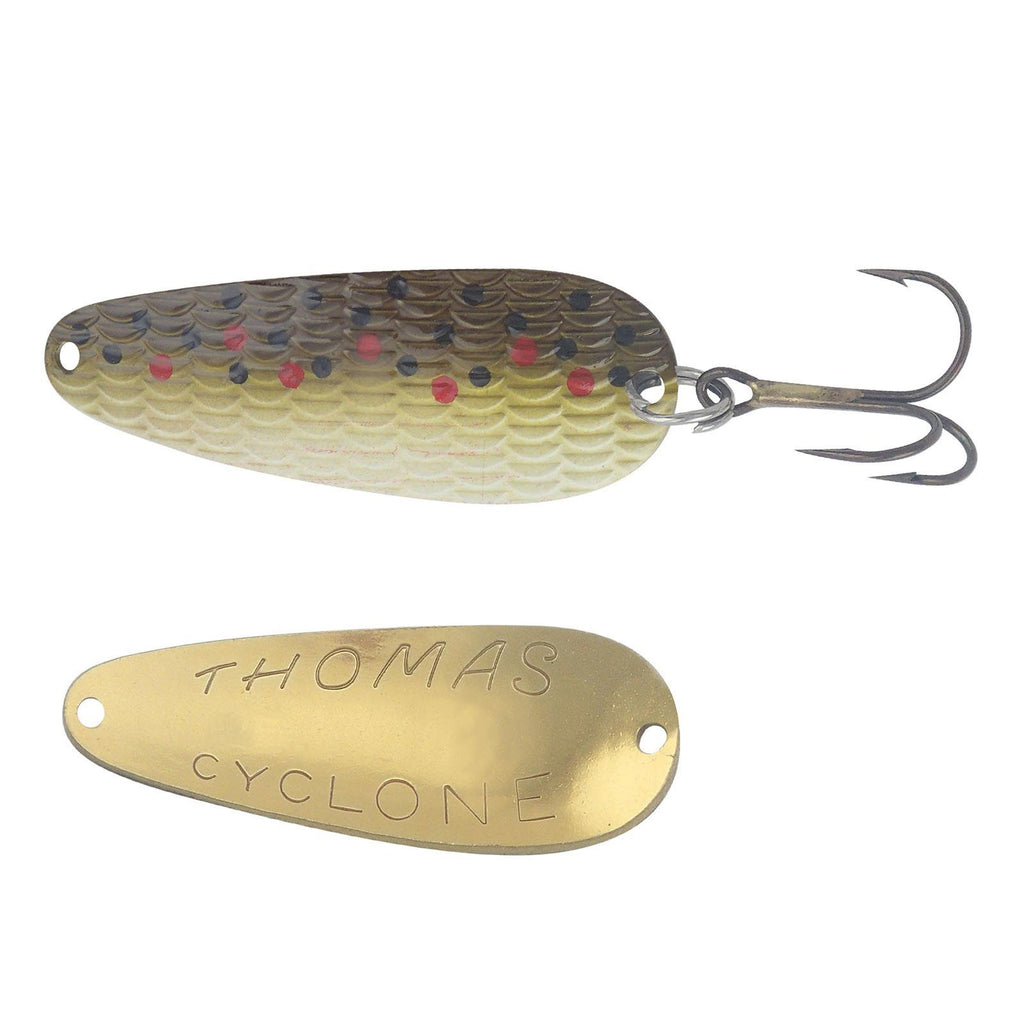 Thomas Lures Cyclone Spoon Brown Trout 1/6 oz