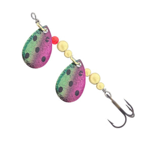 Thomas Lures Double Spin Trout Spinner Watermelon 1/6 oz