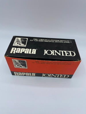 Rapala Jointed Vintage Dealer Box J-13 Gold Full Box of 6