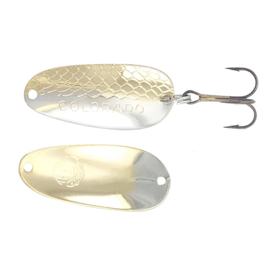 Thomas Lures Colorado Spoon Nickel Gold 1/10 oz