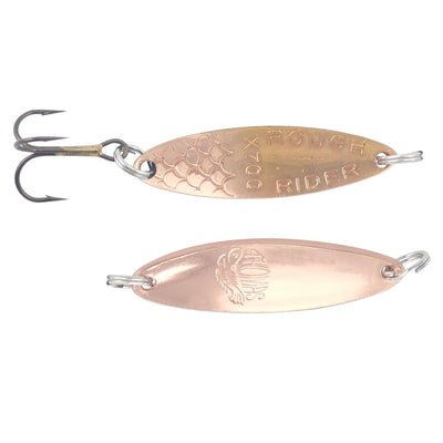 (12) Thomas Lures Rough Rider Spoons Copper Gold 1/5 oz (New in Package)