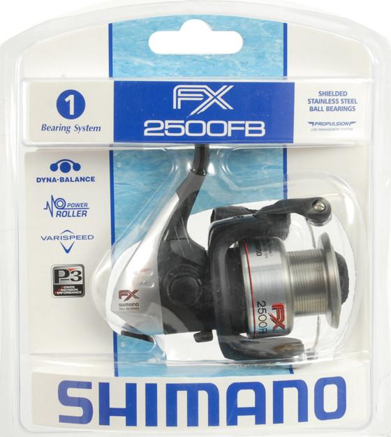 Shimano FX 2500FB Fishing Reel Recommended for 6 lb line