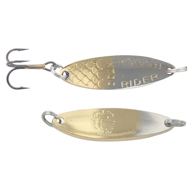Thomas Lures Rough Rider Spoon Nickel Gold 1/5 oz