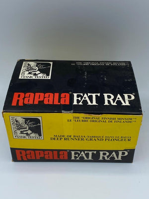 Rapala Fat Rap FR 5 CW Crawdad Full Dealer Box of 12