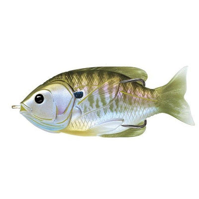 Live Target Hollow Body Sunfish Natural/Olive Bluegill 3.0