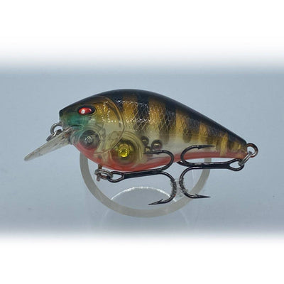 Fishlon Square Bill Crankbait 2 inch, 1/3 oz, Dives 3 ft,   Perch