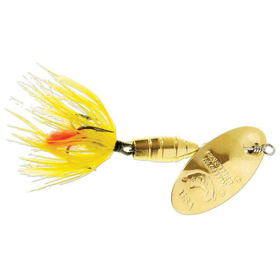 Panther Martin Brass Body Deluxe Fly Gold/Yellow 3/8 oz #9