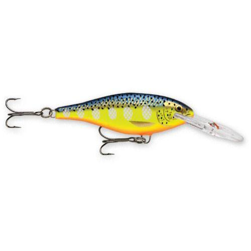 Rapala Shad Rap Floating Sr-7 Hot Steel 2.75""
