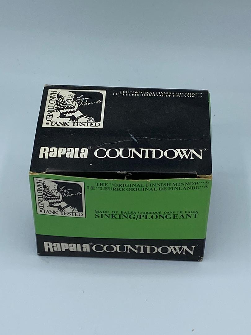 Rapala Countdown CD-3 Rainbow Trout Full Dealer Box of 6