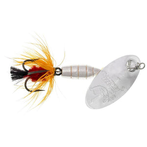Panther Martin Brass Body Deluxe Fly Silver/Orange 3/8 oz #9