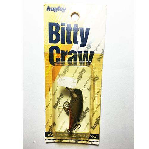 Bagley Bitty Craw Diving Crawfish In Package - Vintage