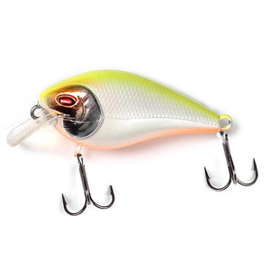 Fishlon Square Bill Crankbait 2 inch, 1/3 oz, Dives 3 ft,  Sunrise