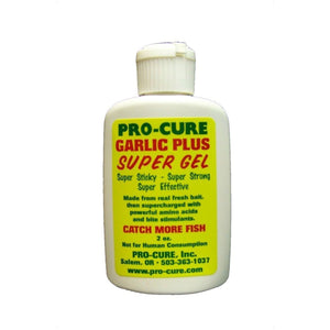 Pro-Cure Garlic Plus Super Gel 2 oz (Trout Attractant)