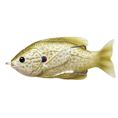 Live Target Hollow Body Sunfish  Pearl/Olive Pumpkinseed 3.5