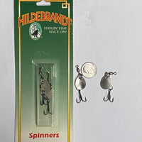 Hildebrandt Colorado Spinner Nickel Size #1 - 2 Pack