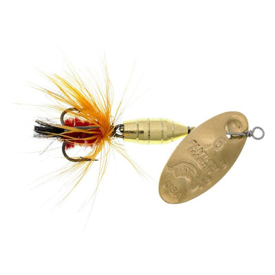 Panther Martin Brass Body Deluxe Fly Trout Spinner (Choose Size & Color)
