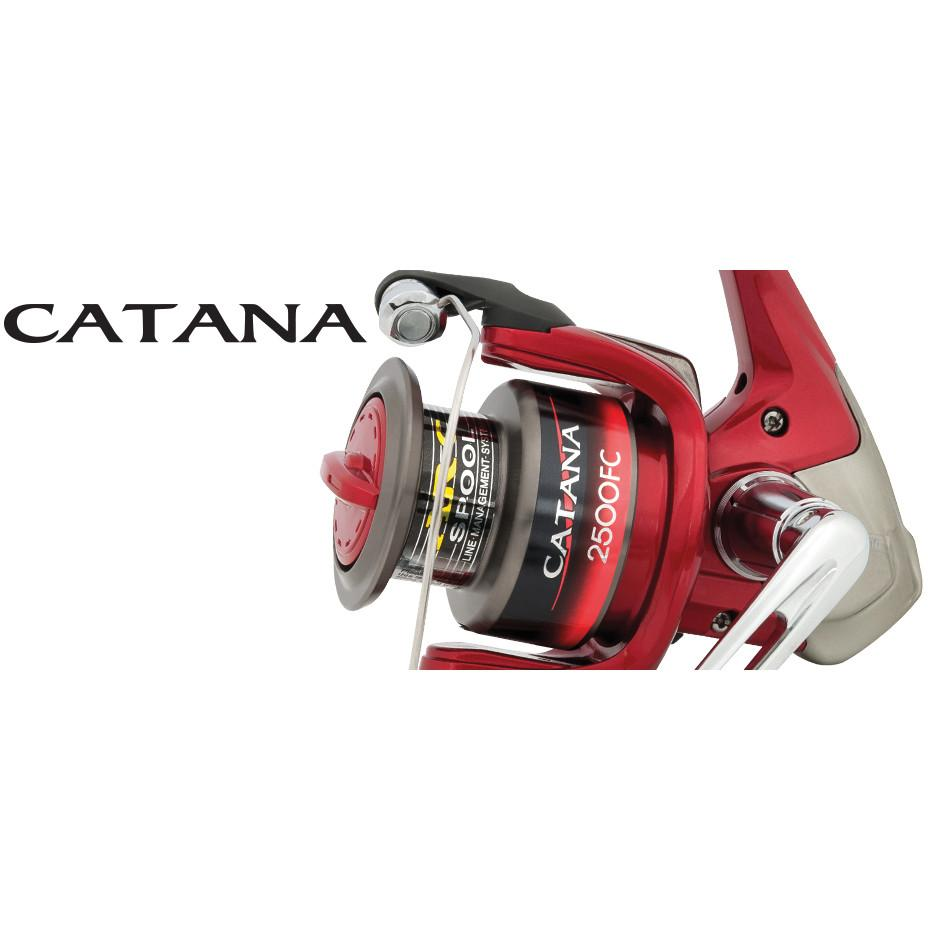 Shimano Catana D 1000FC Fishing Reel Recommended for 4 lb line