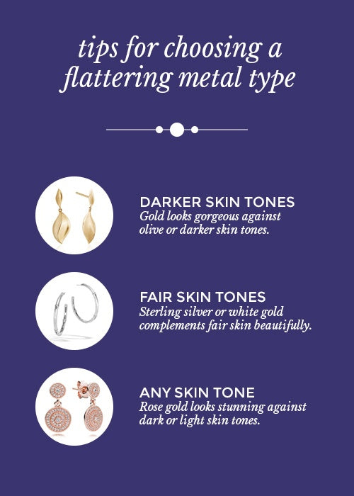 Tips for Choosing a Flattering Metal Type