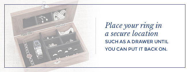 Store Your Engagement Ring in a Secure Location