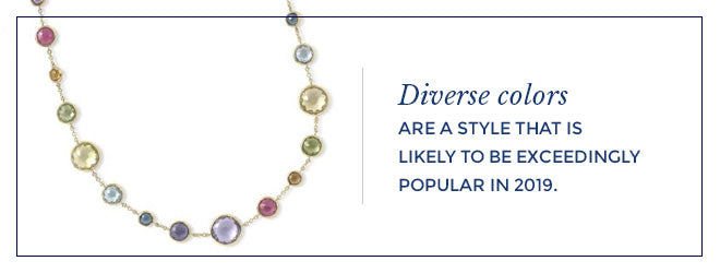 Diverse Colored Jewelry
