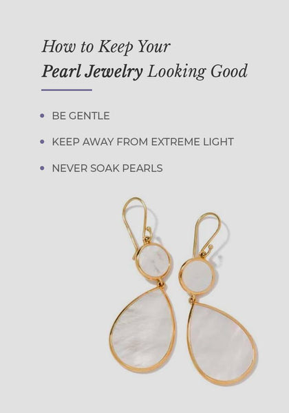 How to take care of pearl jewelry
