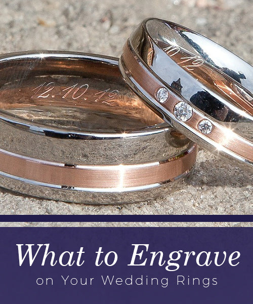 f41bbf00ee ❤ What to Engrave on Your Wedding Rings ❤ | Mountz Jewelers