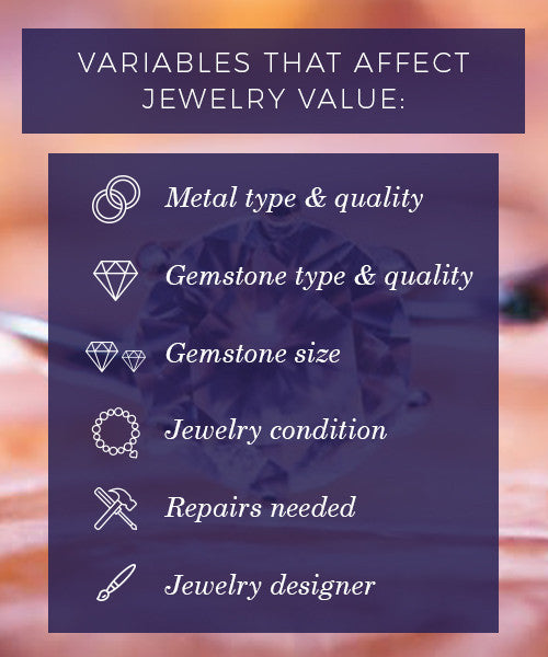 Variables That Affect Jewelry Value