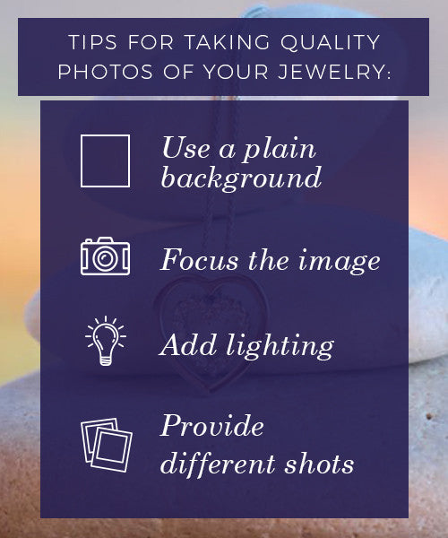 Tips For Taking Quality Photos Of Your Jewelry