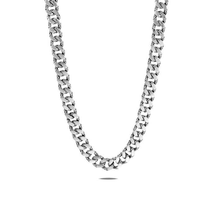 John Hardy 20 Classic Chain 11MM Curb Link Necklace in Sterling Silver