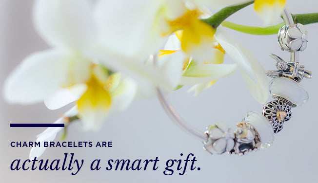 Charm bracelets are actually a smart gift.
