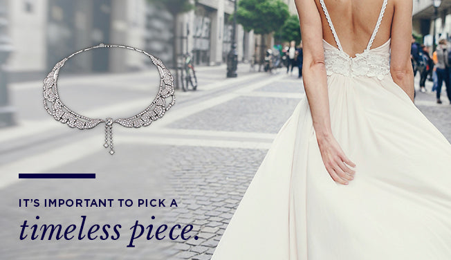 How To Pick Jewelry To Match Your Wedding Dress Mountz Jewelers