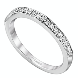 silver and diamond wedding band from Mountz Jewelers in Central PA