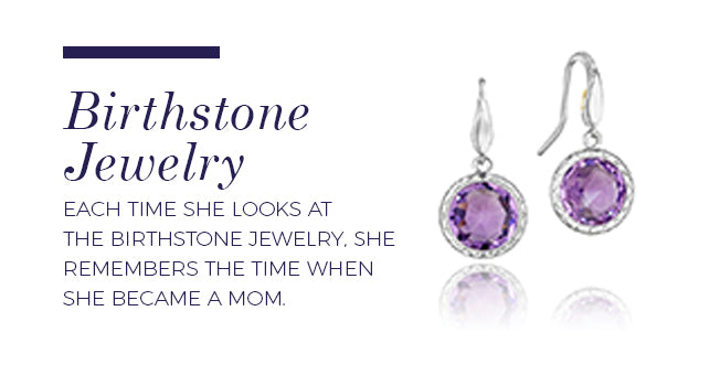 Push Present Ideas: Birthstone Jewelry