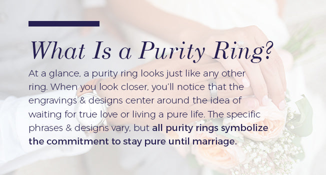 Purity Rings What They Are Amp What They Mean Mountz Jewelers