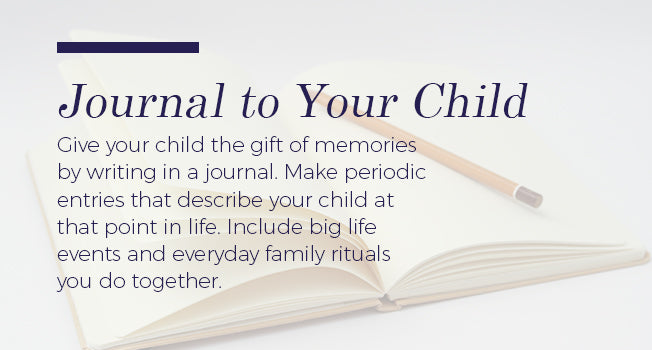 journal to your child