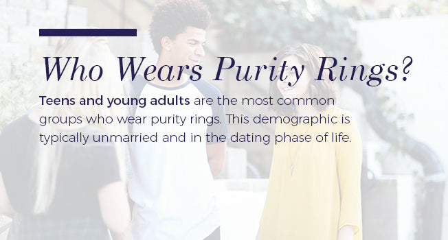 who wears purity rings