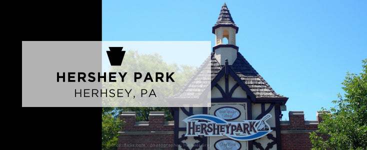 Hershey Park - romantic places in Pennsylvania