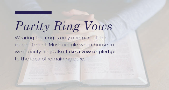 purity ring vows