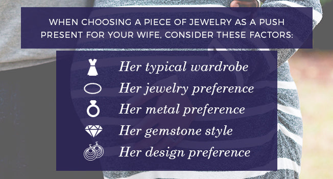 Push Present Jewelry Considerations