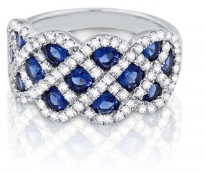 Gorgeous Blue Sapphire Ring